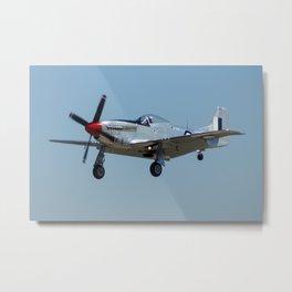 Avalon Airshow - P-51 Mustang Metal Print