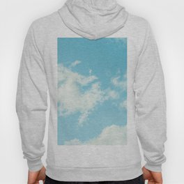 Perfect Blue Summer Sky Nature Photography Hoody
