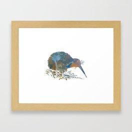 Kiwi Bird Framed Art Print
