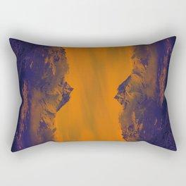 Mystic mountains Rectangular Pillow