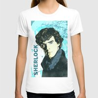 sherlock holmes T-shirts featuring Sherlock Holmes by illustratemyphoto