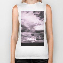 Cloudy Sky #decor #society6 Biker Tank