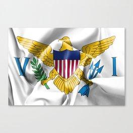 United States Virgin Islands Flag Canvas Print