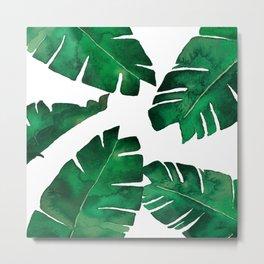 Banana leafs Metal Print