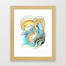 La Grande Transformation Framed Art Print
