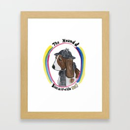 Hound of Biscuitville Framed Art Print