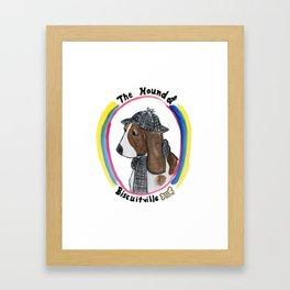 Hound of Biscuitville Framed Art Print