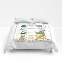 Natural Demographic #8 Comforters