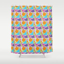 Sunny Shapes Shower Curtain