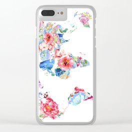 Optimistic World Clear iPhone Case