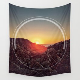 Peel Sunset Wall Tapestry