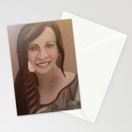 Once upon a Portrait Stationery Cards