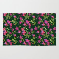 April blooms(Fuchsia)  Rug