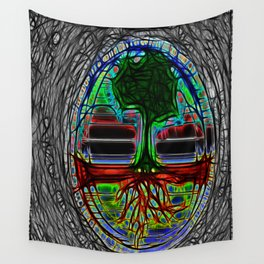 Life Grows Wall Tapestry