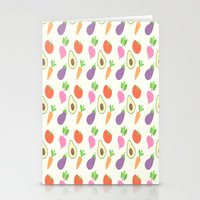 vegetable Stationery Cards featuring Mixed Vegetable by adorkible