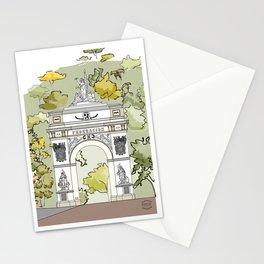 Parque El Calvario -Arco de la Federación- Stationery Cards