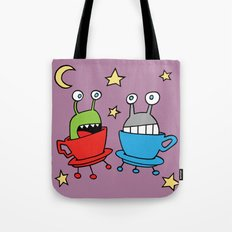 Space MiniMonsters Tote Bag