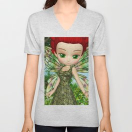 Lil Fairy Princess Unisex V-Neck