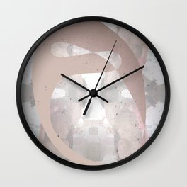 Sexz mask Wall Clock