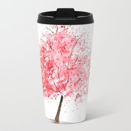 Kwanzan Cherry Tree Travel Mug