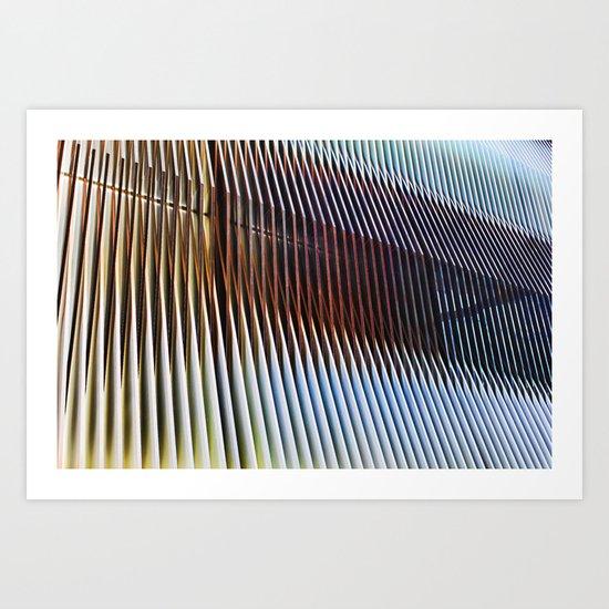 Structure of Ephemera Art Print