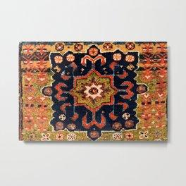 Meshkin Azerbaijan Northwest Persian Bag Face Print Metal Print