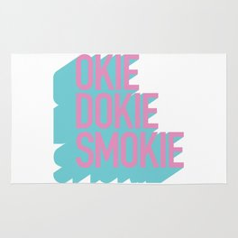 Okie Dokie Smokie Design Rug
