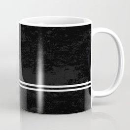 Infinite Road - Black And White Abstract Coffee Mug