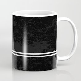 Infinite Road - Black And White Abstract Coffee Mug