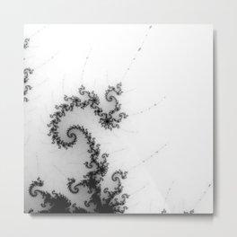 detail on mandelbrot set - pseudopod Metal Print
