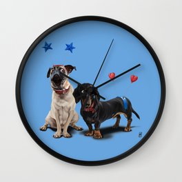 What's the Deely? (Colour) Wall Clock