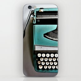 just my type iPhone Skin