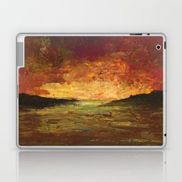 Sunset Experiment Laptop & iPad Skin