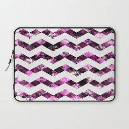 Purple Zig Zags I Laptop Sleeve