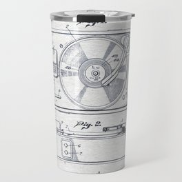 Record player 1950 Travel Mug