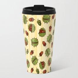 Autumn chestnut Travel Mug