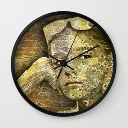 Far Away Eyes Wall Clock