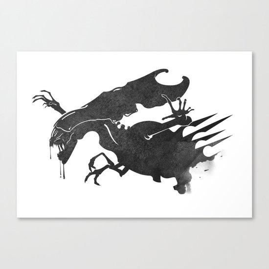 The Queen Alien Canvas Print