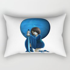 Neptune Princess Rectangular Pillow