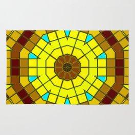 Glass Kaleidoscope Rug