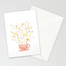 Hard To Find Books And Tea Stationery Cards