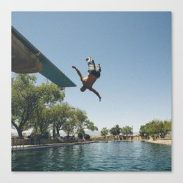 Balmorhea Backflip Canvas Print