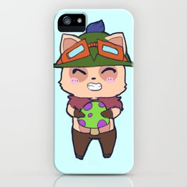 Cute Teemo design iPhone Case