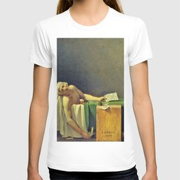 Jacques-Louis David - The Death of Marat - Digital Remastered Edition T-shirt