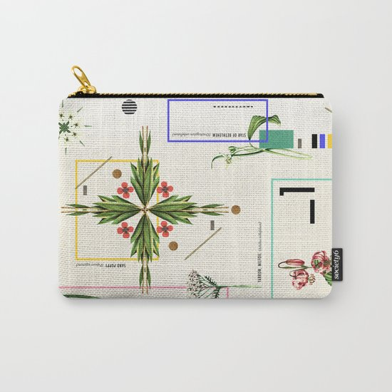 Wild Flowers_1 Carry-All Pouch