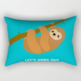 Let's Hang Out Rectangular Pillow