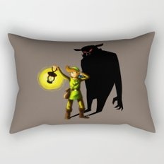 The Hero's Lantern Rectangular Pillow