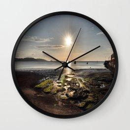 Paignton Beach Wall Clock
