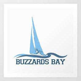 Buzzard Bay. Cape Cod Art Print
