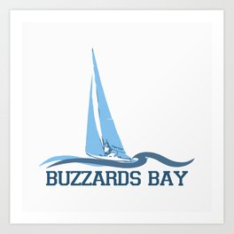 Buzzard Bay. Cape Cod Art Print